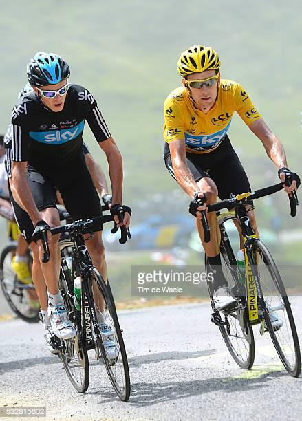 99th Tour de France 2012 / Stage 17 Christopher Froome / Bradley Wiggins Yellow Jersey / BagneresdeLuchon Peyragudes / Ronde van Frankrijk TDF / Rit...