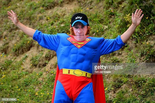 99th Tour de France 2012 / Stage 17 Illustration Illustratie / Bradley Wiggins Fans Supporters / BagneresdeLuchon Peyragudes / Ronde van Frankrijk...