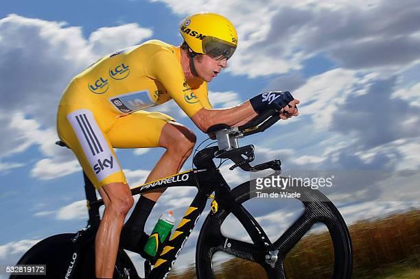 99th Tour de France 2012 / Stage 19 Bradley Wiggins Yellow Jersey / Bonneval - Chartres / Time Trial Contre la Montre Tijdrit TT / Ronde van...