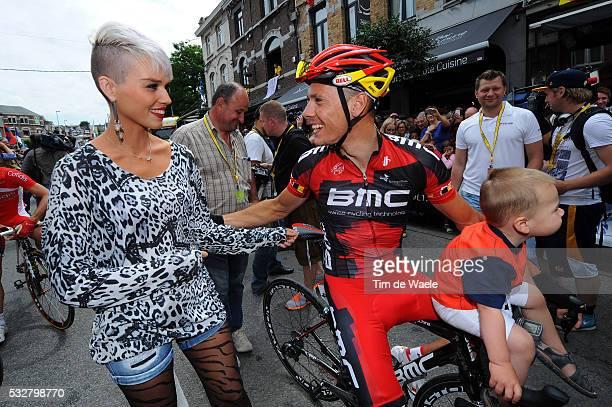 99th Tour de France 2012 / Stage 2 Philippe Gilbert + Alan + Patricia Zeevaert / Vise - Tournai / Ronde van Frankrijk TDF / Rit Stage /Tim De Waele