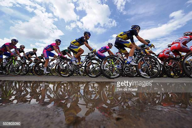 99th Tour de France 2012 / Stage 5 Juan Jose Haedo / Illustration Illustratie / Peleton Peloton / Silhouet Reflection Reflectie / Water Eau Water /...