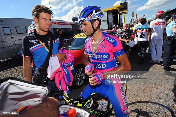 99th Tour de France 2012 / Stage 7 Arrival / Michele Scarponi Deception Teleurstelling / Tomblaine - La Planche des Belles Filles 1035m / Ronde van...