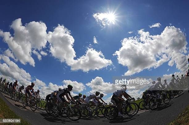 99th Tour de France 2012 / Stage 7 Illustration Illustratie / Peleton Peloton / Sky Ciel Lucht / Landscape Paysage Landschap / Tomblaine - La Planche...