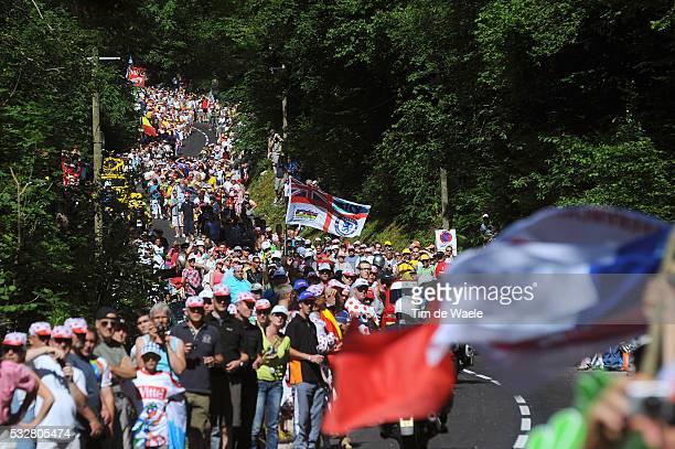 99th Tour de France 2012 / Stage 7 Illustration Illustratie / Fans Supporters Public Publiek Spectators / La Planche des Belles Filles 1035m /...