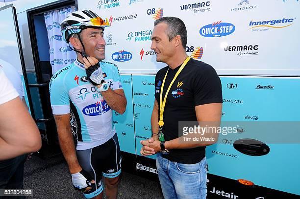 99th Tour de France 2012 / Stage 7 Jerome Pineau / Richard VIRENQUE / Tomblaine - La Planche des Belles Filles 1035m / Ronde van Frankrijk TDF / Rit...