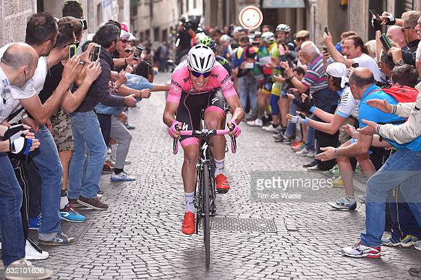 99th Tour of Italy 2016 / Stage 11 Bob JUNGELS Pink Leader Jersey/ Public / Fans / Modena Asolo / Giro /