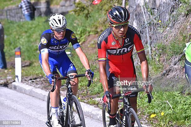99th Tour of Italy 2016 / Stage 14 Darwin ATAPUMA HURTADO / David DE LA CRUZ MELGAREJO / Alpago Corvara 1528m / Giro /