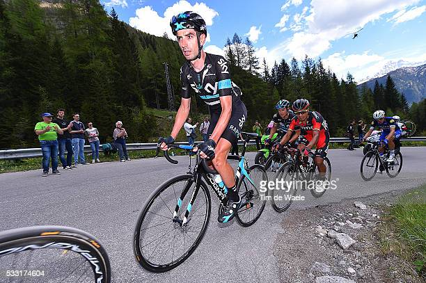 99th Tour of Italy 2016 / Stage 14 David LOPEZ GARCIA / Alpago Corvara 1528m / Giro /