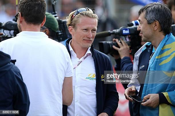 99th Tour of Italy 2016 / Stage 20 Arrival / Alexandr VINOKOUROV Manager Team Astana / Guillestre Sant'Anna Di Vinadio 2015m / Giro /