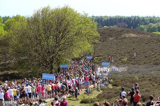 99th Tour of Italy 2016 / Stage 3 Illustration / POSBANK Hill / Peloton / Public Fans / Landscape / Nijmegen - Arnhem / Giro /