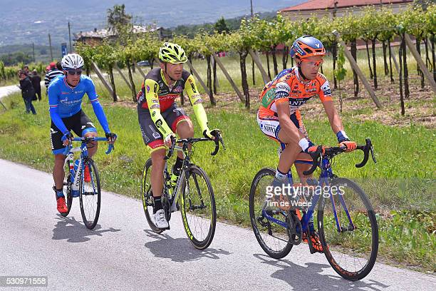 99th Tour of Italy 2016 / Stage 6 Alessandro BISOLTI / Eugert ZHUPA / Alexandr KOLOBNEV / Ponte Roccaraso 1572m / Giro /