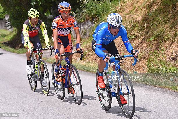 99th Tour of Italy 2016 / Stage 6 Alexandr KOLOBNEV / Alessandro BISOLTI / Eugert ZHUPA / Ponte Roccaraso 1572m / Giro /