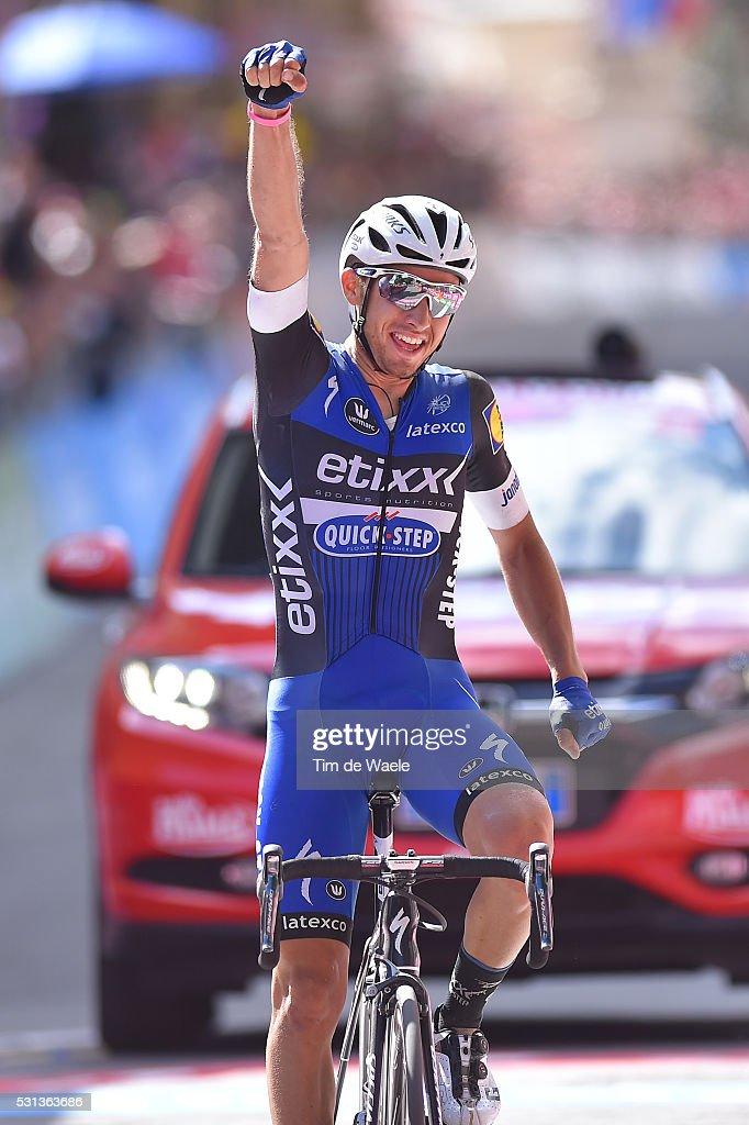 99th Tour of Italy 2016 / Stage 8 Arrival / Gianluca BRAMBILLA (ITA) Celebration / Foligno - Arezzo (186Km)/ Giro /