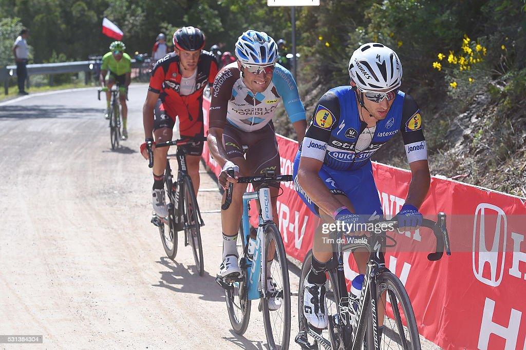 99th Tour of Italy 2016 / Stage 8 Gianluca BRAMBILLA (ITA)/ Matteo MONTAGUTI (ITA)/ Alessandro DE MARCHI (ITA)/ Foligno - Arezzo (186km)/ Giro /