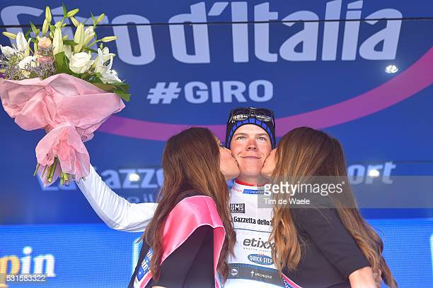99th Tour of Italy 2016 / Stage 9 Podium / Bob JUNGELS White Best Young Jersey/ Celebration / Radda in Chianti Greve in Chianti / Time Trial / ITT /...