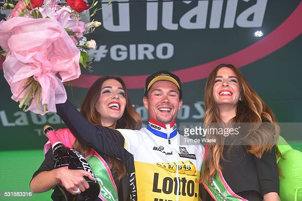 99th Tour of Italy 2016 / Stage 9 Podium / Primoz ROGLIC / Celebration / Radda in Chianti Greve in Chianti / Time Trial / ITT / Giro /