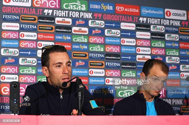 99th Tour of Italy 2016 / Team Astana Vincenzo NIBALI / Michele SCARPONI / Press Conference Team ASTANA / Giro /