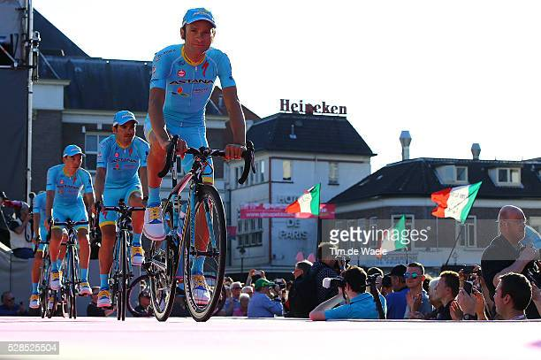 99th Tour of Italy 2016 / Team Presentation Team ASTANA PRO TEAM / Michele SCARPONI / Giro /