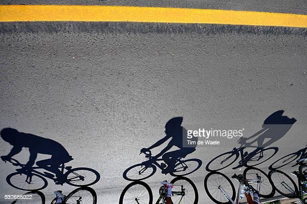 9th Tour de San Luis 2015 / Stage 2 Illustration Illustratie / Shadow Hombre Schaduw / Peleton Peloton / La Punta Mirador de Potrero 1270m / Etape...