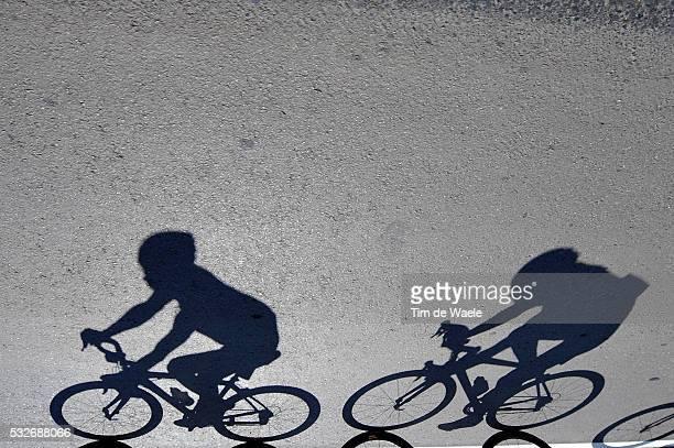 9th Tour de San Luis 2015 / Stage 2 Illustration Illustratie / Shadow Hombre Schaduw / Peleton Peloton / La Punta - Mirador de Potrero 1270m / Etape...