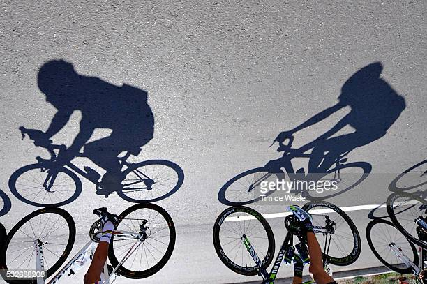 9th Tour de San Luis 2015 / Stage 2 Illustration Illustratie / Shadow Hombre Schaduw / Peleton Peloton / La Punta - Mirador de Potrero 1270m / Etape...
