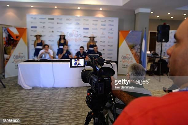 9th Tour de San Luis 2015 / Team Novo Nordisk CASTOL Rafael Dokter Doctor Medic / VERSCHOOR Martijn / DE MESMAEKERS Kevin / LOZANO David / Press Pers...