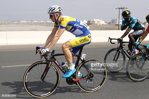 9th Tour of Oman 2018 / Stage 2 Aime De Gendt of Belgium / Sultan Qaboos University Al Bustan / Oman Tour /