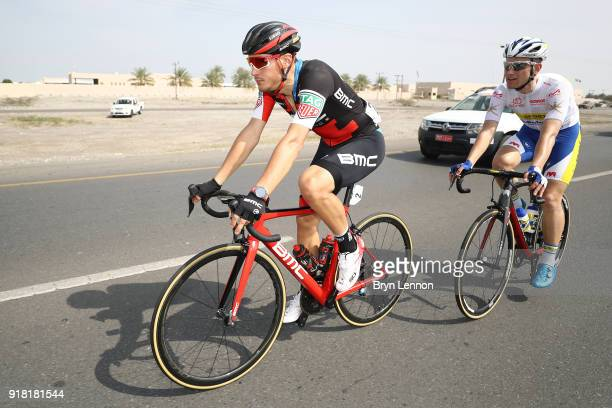 9th Tour of Oman 2018 / Stage 2 Alberto Bettiol of Italy / Maxime Farazijn of Belgium White Best Young Rider Jersey / Sultan Qaboos University Al...