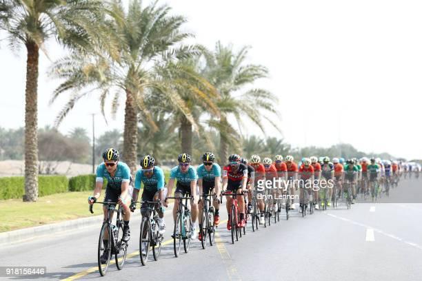 9th Tour of Oman 2018 / Stage 2 Bert De Backer of Belgium / Lorrenzo Manzin of France / Sultan Qaboos University - Al Bustan / Oman Tour /