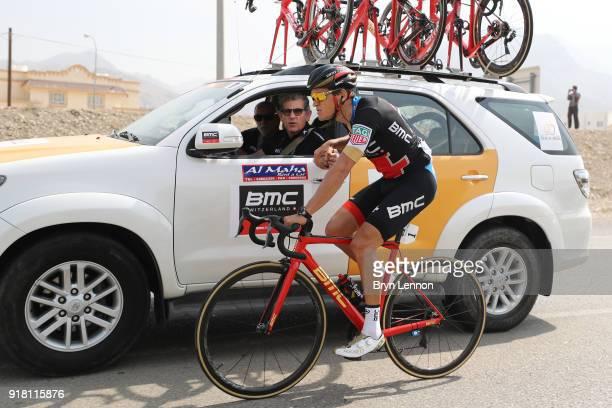 9th Tour of Oman 2018 / Stage 2 Greg Van Avermaet of Belgium / Feed Zone / Tean BMC Racing Team / Car / Sultan Qaboos University Al Bustan / Oman...