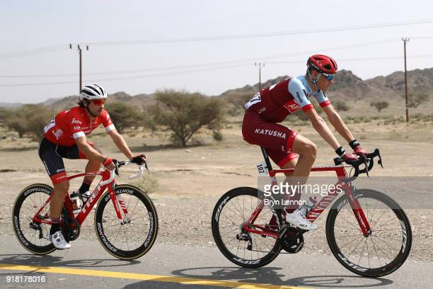 9th Tour of Oman 2018 / Stage 2 Ian Boswell of The United States / Fabio Felline of Italy / Sultan Qaboos University Al Bustan / Oman Tour /