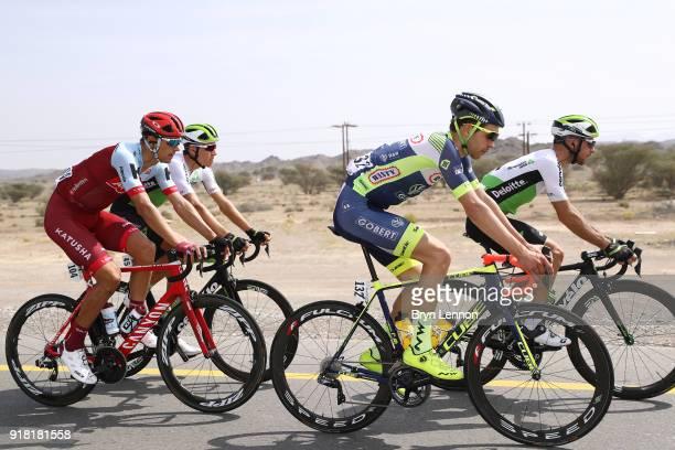 9th Tour of Oman 2018 / Stage 2 Simone Antonini of Italy / Reto Hollenstein of Switzerland / Sultan Qaboos University Al Bustan / Oman Tour /