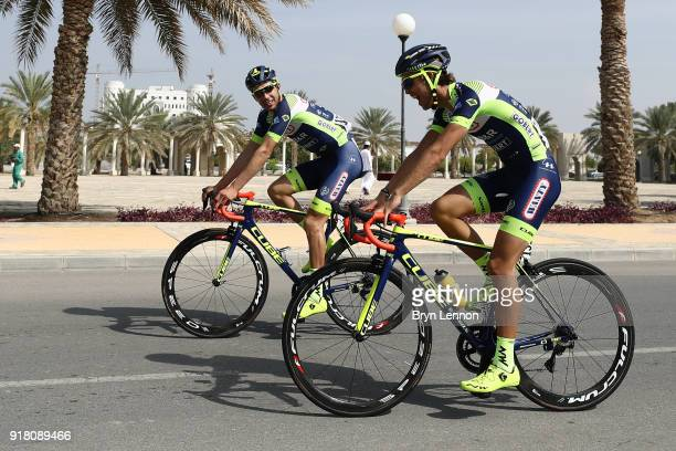 9th Tour of Oman 2018 / Stage 2 Start / Odd Christian Eiking of Norway / Team Wanty Groupe Gobert / Sultan Qaboos University Al Bustan / Oman Tour /