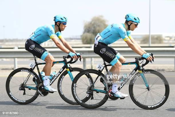 9th Tour of Oman 2018 / Stage 2 Tanel Kangert Estonia / Omar Fraile of Spain / Sultan Qaboos University Al Bustan / Oman Tour /