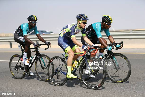 9th Tour of Oman 2018 / Stage 3 Fabien Doubey of France / Kevin Reza of France / Lorrenzo Manzin of France / German University of Technology - Wadi...