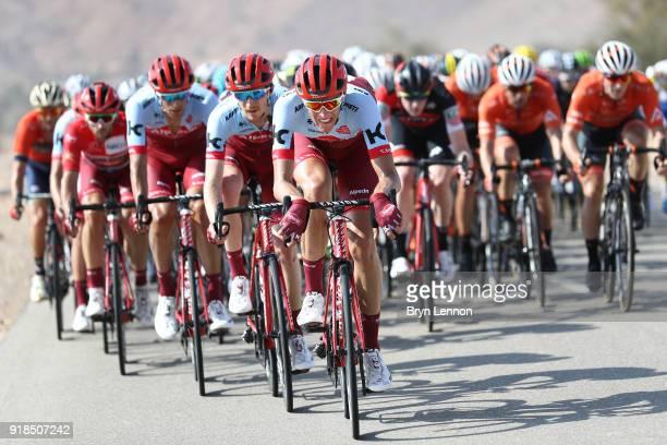9th Tour of Oman 2018 / Stage 3 Nils Politt of Germany / Peloton / German University of Technology Wadi Dayqah Dam/ Oman Tour /