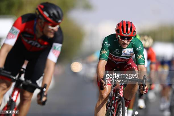9th Tour of Oman 2018 / Stage 4 Arrival / Nathan Haas of Australia Green Sprint Jersey / YitiAl Sifah Ministry of Tourism / Oman Tour /