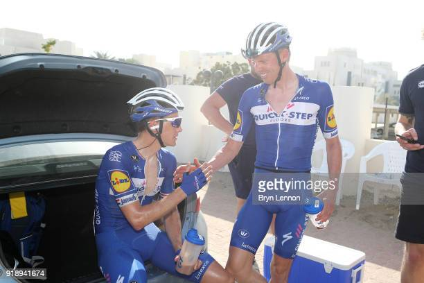 9th Tour of Oman 2018 / Stage 4 Arrival / Niki Terpstra of The Netherlands / Tim Declercq of Belgium / YitiAl Sifah Ministry of Tourism / Oman Tour /