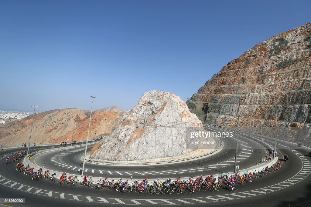 Cycling: 9th Tour of Oman 2018 / Stage 4 : ニュース写真