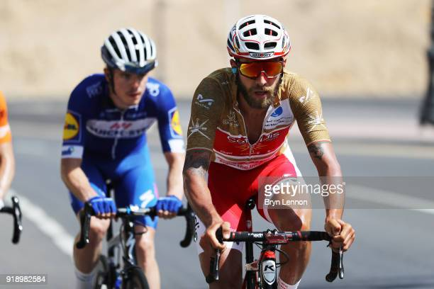 9th Tour of Oman 2018 / Stage 4 Loic Chetout of France Gold Most Aggressive Rider Jersey / YitiAl Sifah Ministry of Tourism / Oman Tour /