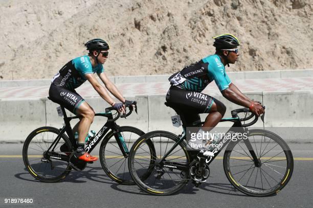 9th Tour of Oman 2018 / Stage 4 Lorrenzo Manzin of France / Kris Boeckmans of Belgium / YitiAl Sifah Ministry of Tourism / Oman Tour /