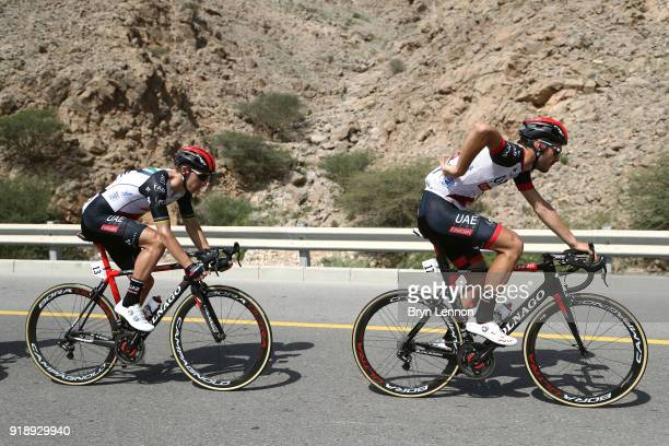 9th Tour of Oman 2018 / Stage 4 Oliviero Troia of Italy / Rui Faria Da Costa of Portugal / YitiAl Sifah Ministry of Tourism / Oman Tour /