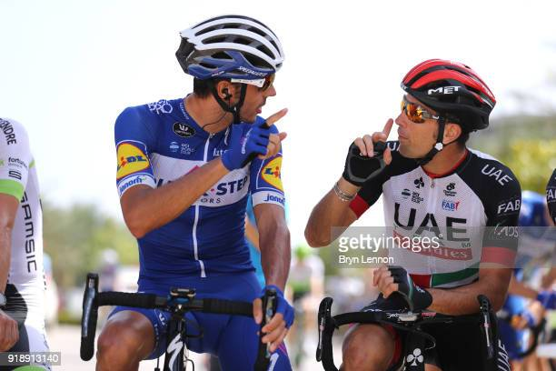 9th Tour of Oman 2018 / Stage 4 Start / Eros Capecchi of Italy / Marco Marcato of Italy / YitiAl Sifah Ministry of Tourism / Oman Tour /