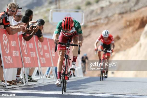 9th Tour of Oman 2018 / Stage 5 Arrival / Nathan Haas of Australia Green Sprint Jersey / Samail Jabal Al AkhdharGreen Mountain 1235m / Oman Tour /