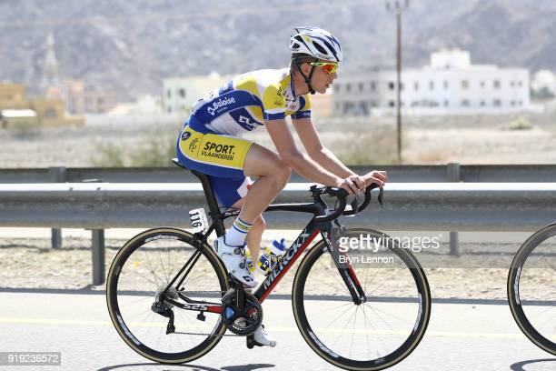 9th Tour of Oman 2018 / Stage 5 Kenneth Van Rooy of Belgium / Samail Jabal Al AkhdharGreen Mountain 1235m / Oman Tour /