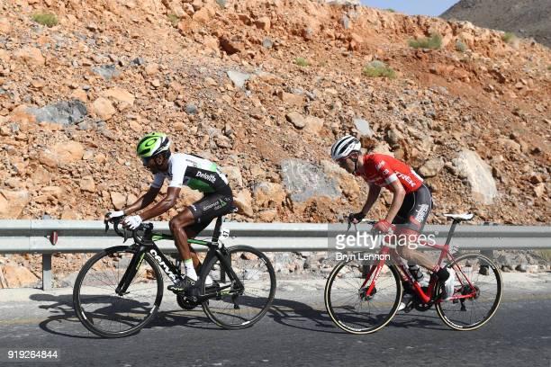 9th Tour of Oman 2018 / Stage 5 Merhawi Kudus of Eritrea / Peter Stetina of The United States / Samail Jabal Al AkhdharGreen Mountain 1235m / Oman...