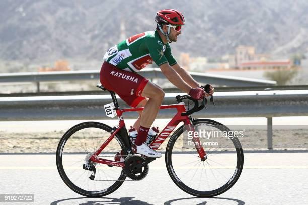 9th Tour of Oman 2018 / Stage 5 Nathan Haas of Australia Green Sprint Jersey / Samail Jabal Al AkhdharGreen Mountain 1235m / Oman Tour /