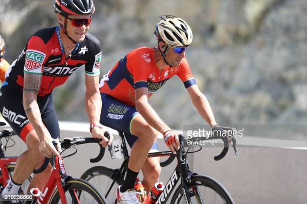 9th Tour of Oman 2018 / Stage 5 Nicolas Roche of Ireland / Vincenzo Nibali of Italy / Samail Jabal Al AkhdharGreen Mountain 1235m / Oman Tour /