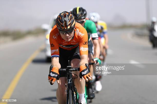 9th Tour of Oman 2018 / Stage 5 Pim Ligthart of The Netherlands / Samail Jabal Al AkhdharGreen Mountain 1235m / Oman Tour /