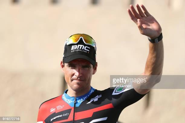 9th Tour of Oman 2018 / Stage 5 Podium / Greg Van Avermaet of Belgium / Celebration / Samail Jabal Al AkhdharGreen Mountain 1235m / Oman Tour /
